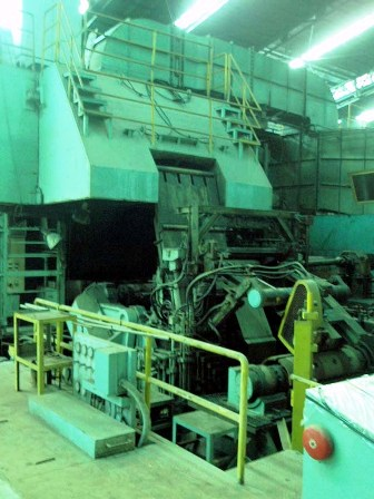 1250mm Hitachi 6HI Cold Reversible Rolling Mill , Used